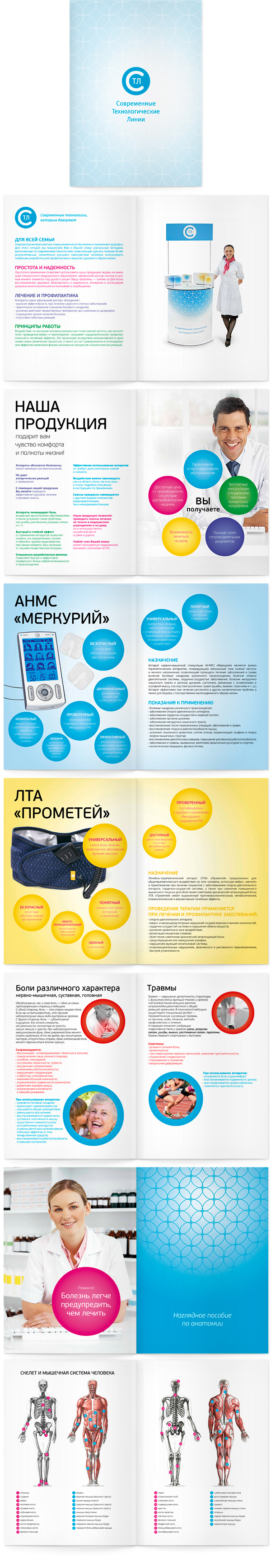 презетационный каталог компании